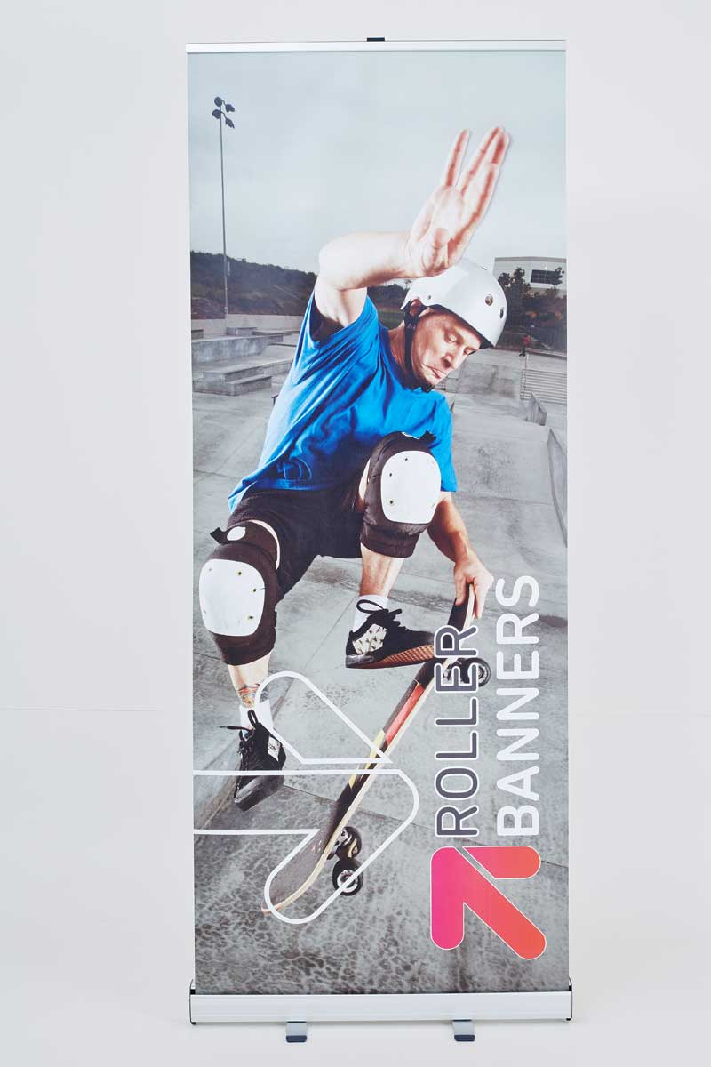 StandardRollerBanners4 retractable banners 25% off roller banners    Image of StandardRollerBanners4