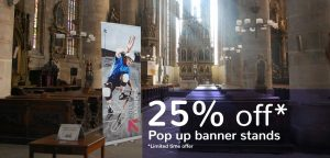 pop up banners stands 300x144 pop up banners stands    Image of pop up banners stands 300x144