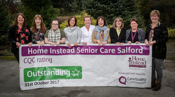 Home instead CQC rating banner