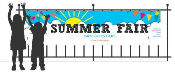 EventBanners landscape Summer Fair Banner    Image of EventBanners landscape