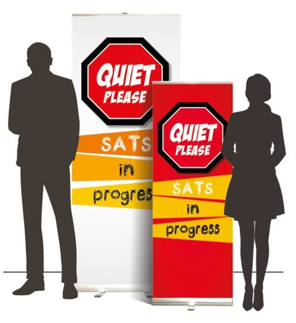QuitePleaseSatsBannersOverall e1521022438877 Quiet please <span>sats in progress roller banner</span>    Image of QuitePleaseSatsBannersOverall e1521022438877
