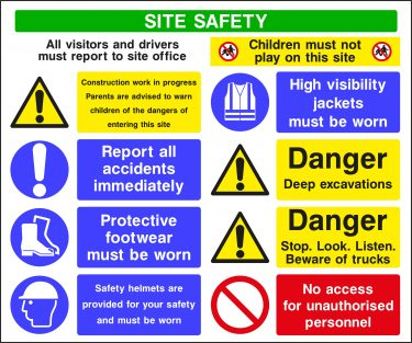 CONS0012 375x313 Site Safety Boards    Image of CONS0012 375x313