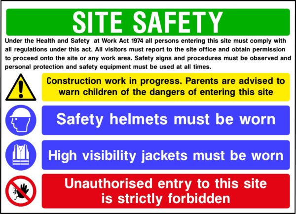 CONS0013 Site Safety <span>Style 3</span>