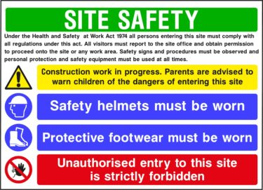 CONS0014 375x271 Site Safety Boards    Image of CONS0014 375x271