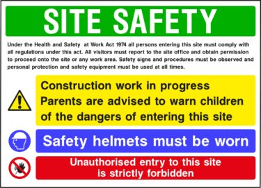 CONS0015 375x271 Site Safety Boards    Image of CONS0015 375x271