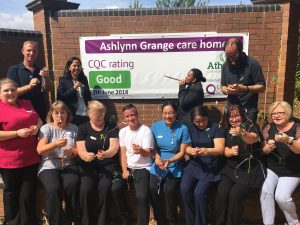 Ashlyn Grange Care home