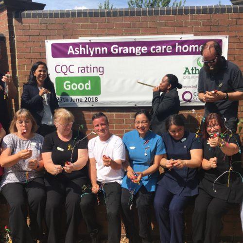 Ashlyn Grange Care home