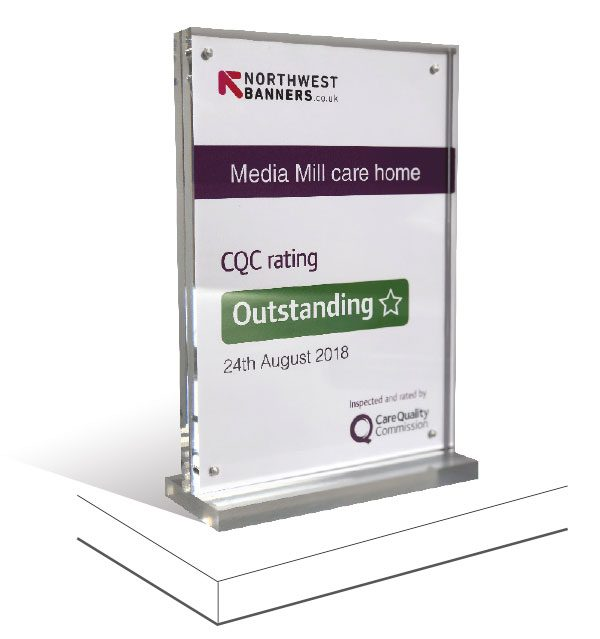 MagBlock1 CQC <span>Magnetic block certificate display holder</span>    Image of MagBlock1