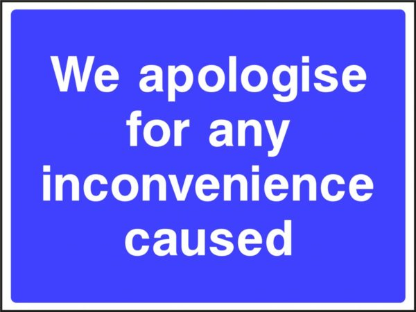 CONS0003 CONS0003   <span>We apologise for any inconvenience caused </span>    Image of CONS0003