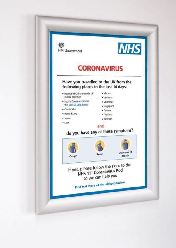Corona1inframe1 Coronavirus posters    Image of Corona1inframe1