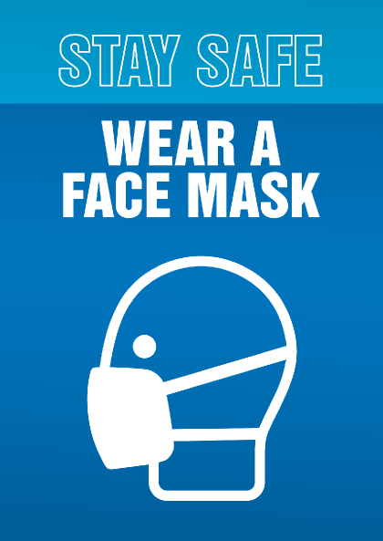 covid posters7 Stay Safe <span>Wear a Face Mask</span>    Image of covid posters7