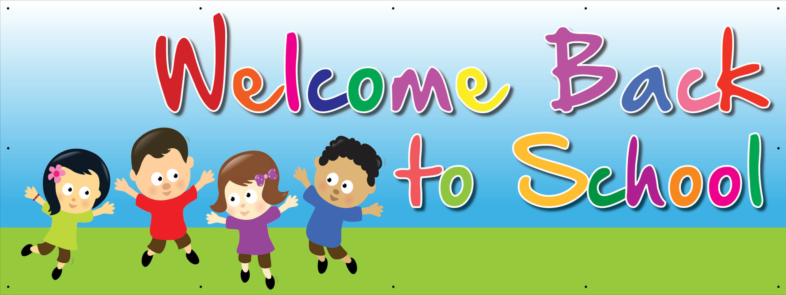 WelcomBack 8x4 good scaled Schools and colleges    Image of WelcomBack 8x4 good scaled