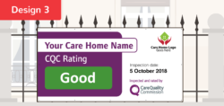 CQC D3 GOOD Care Quality Commission Banner  CQC outstanding and good banners    Image of CQC D3 GOOD
